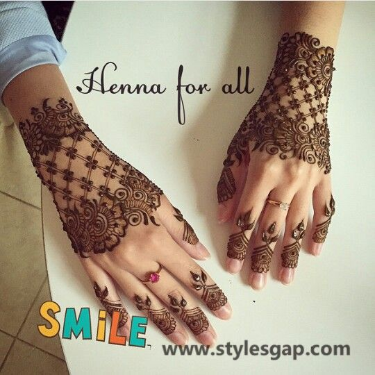 Latest Fancy Pakistani Mehndi Designs Trends 2018 2019