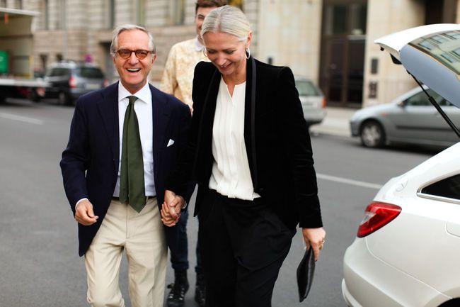Josef Voelk und Christiane Arp bei der FNO Berlin