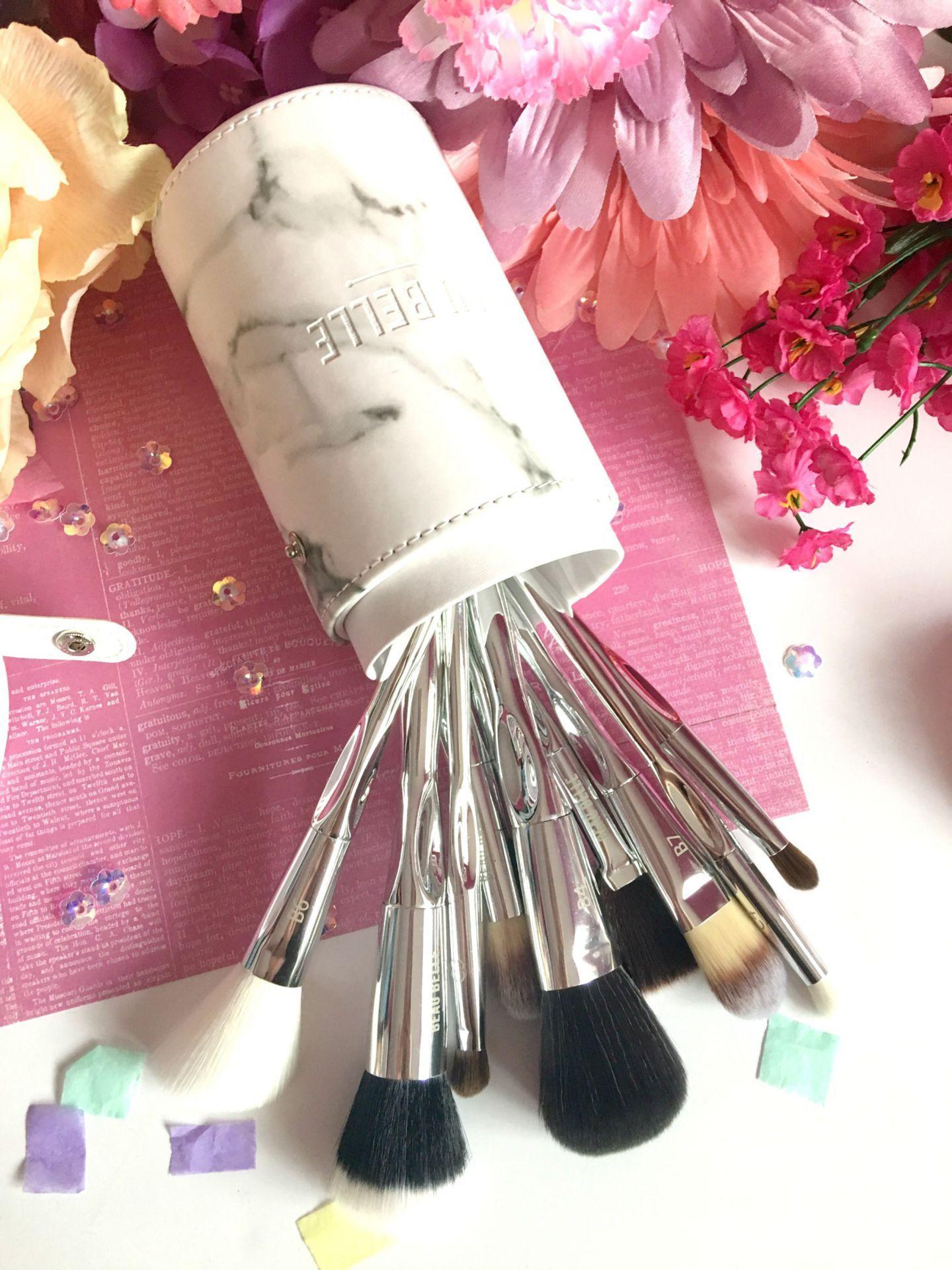 Beau Belle Marble Makeup Brush Set Makeup brush set