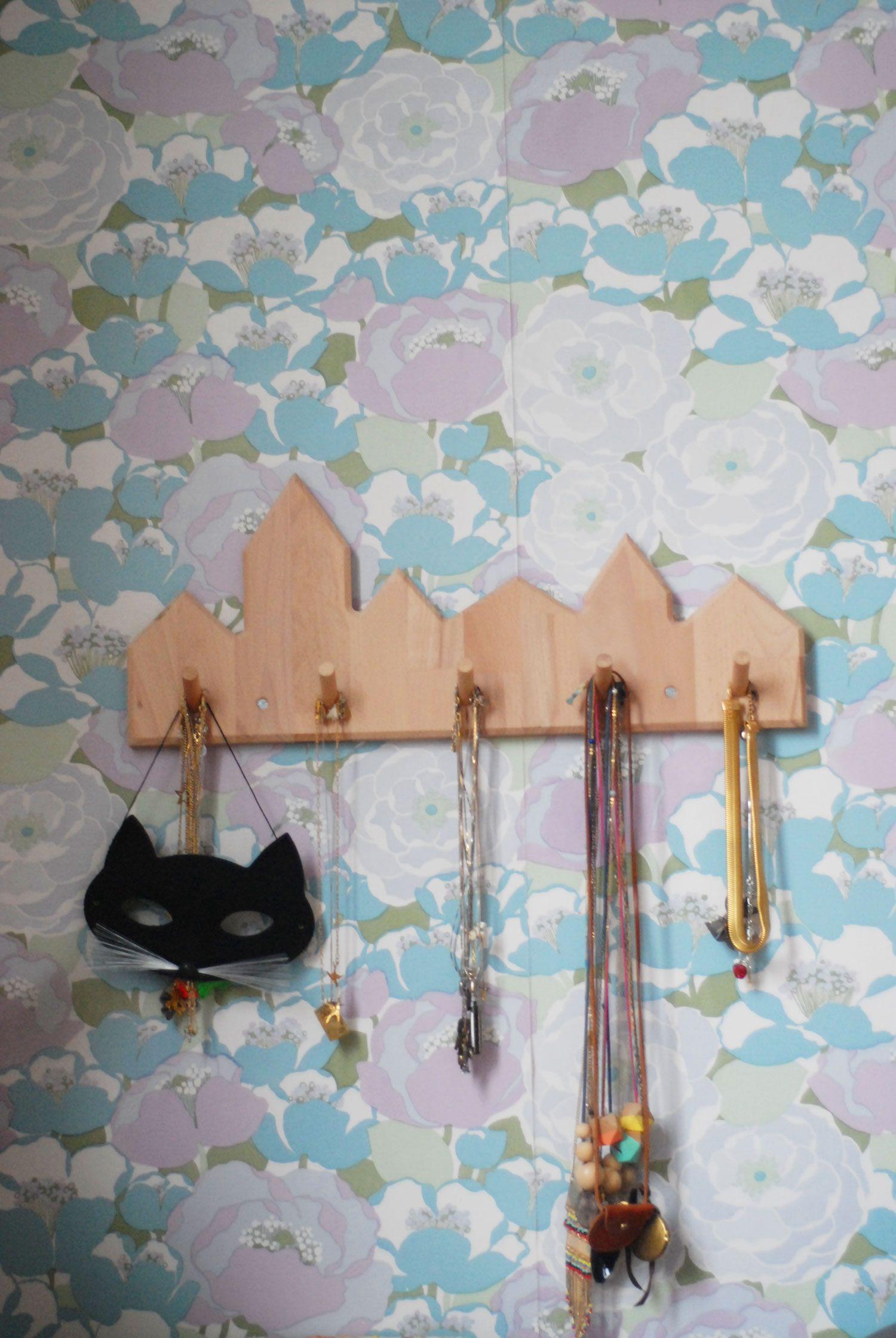 Le Papier Peint Est Il Recyclable morceaux choisis | porte collier, papier peint et creatif
