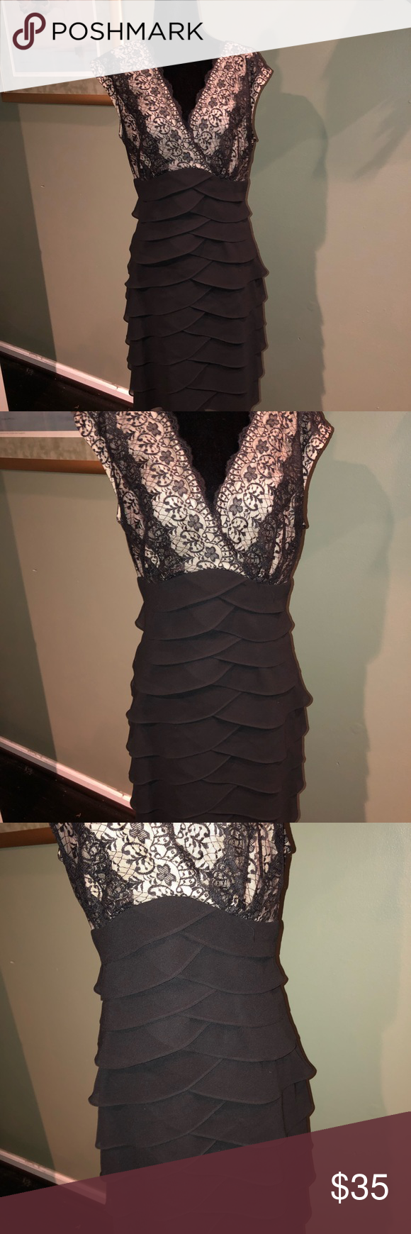 Dress Dresses Lace Dress Black Evening Dresses [ 1740 x 580 Pixel ]