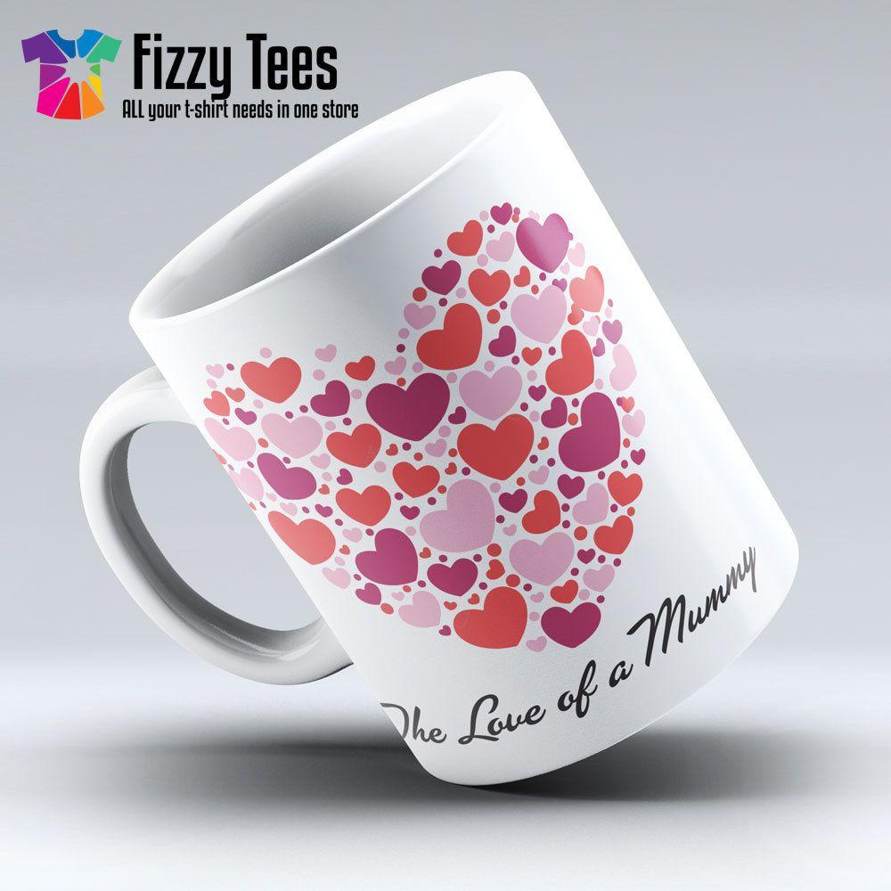 Mugs, Gifts, Red Love Heart