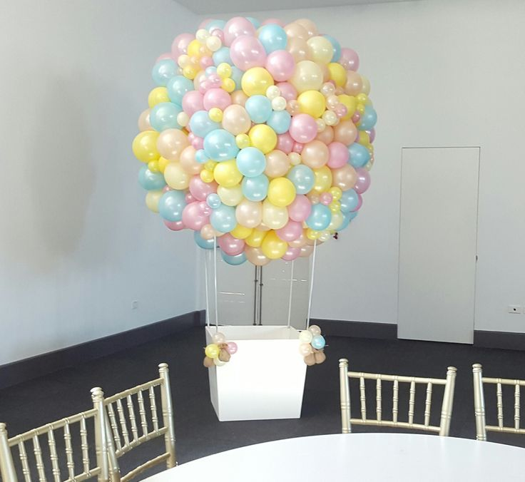 Hot Air Balloon Net Decoration