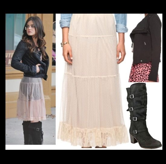 Love Aria's style!