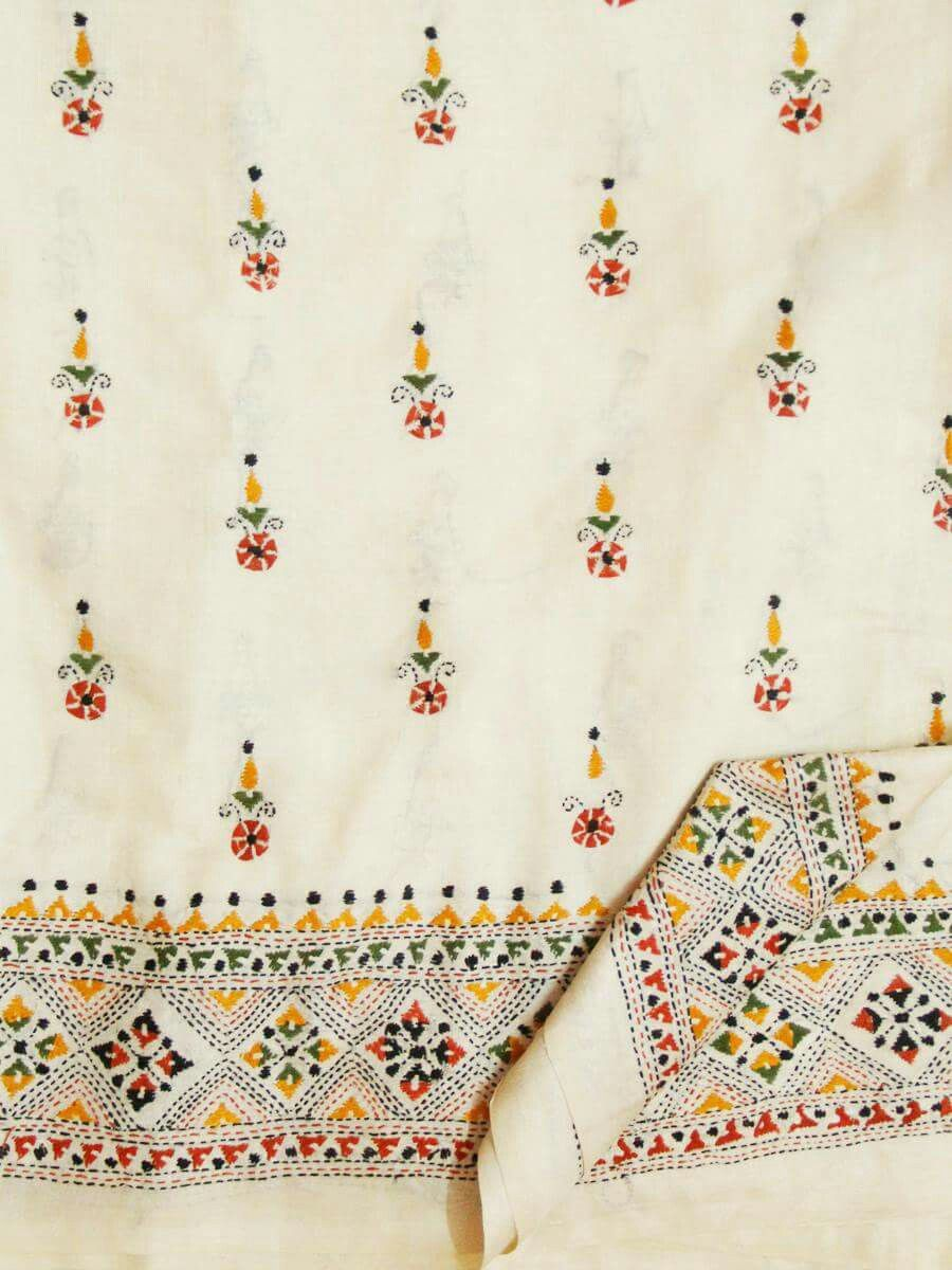Kantha embroidery | new love: embroidery | Pinterest | Hindus ...