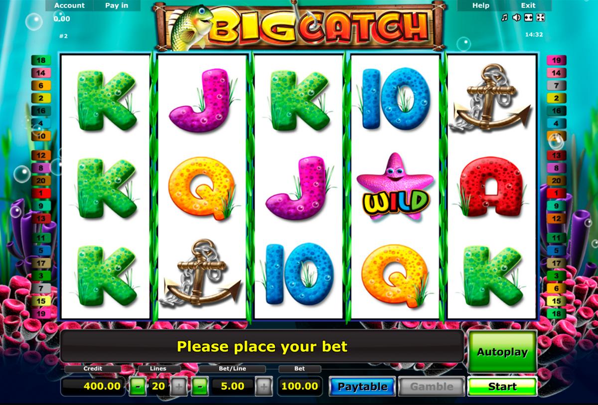 Spiele Big Catch - Video Slots Online