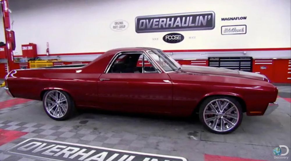Image Result For Overhaulin El Camino With Camaro Front End Foose Chip Foose Chevy Muscle Cars