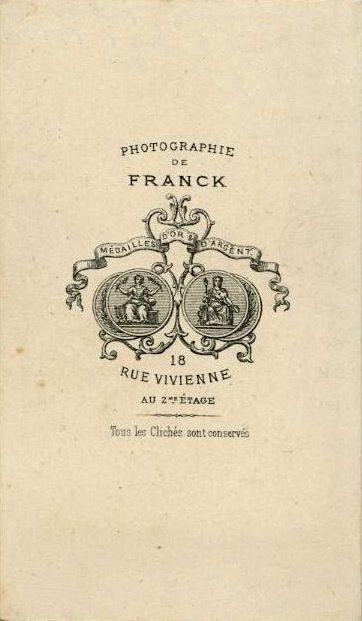 FRANCK (1) 18, rue Vivienne - Paris
