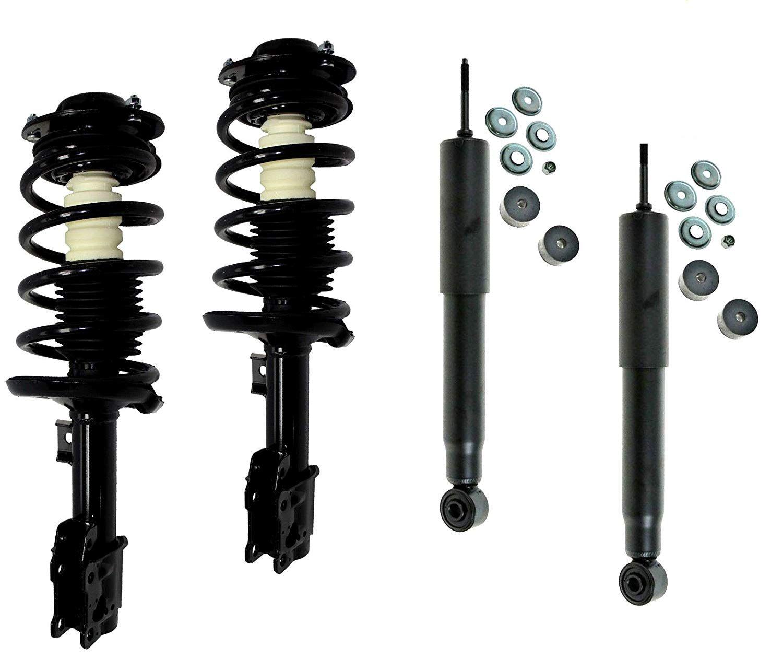 Front Rear Suspension Shock Absorber Strut Assembly Driver Passenger Kit Set 4pc