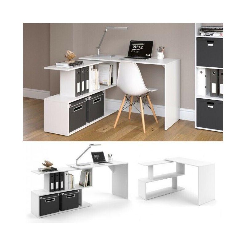 Scrivania angolare studio camera design moderno scrivania ...