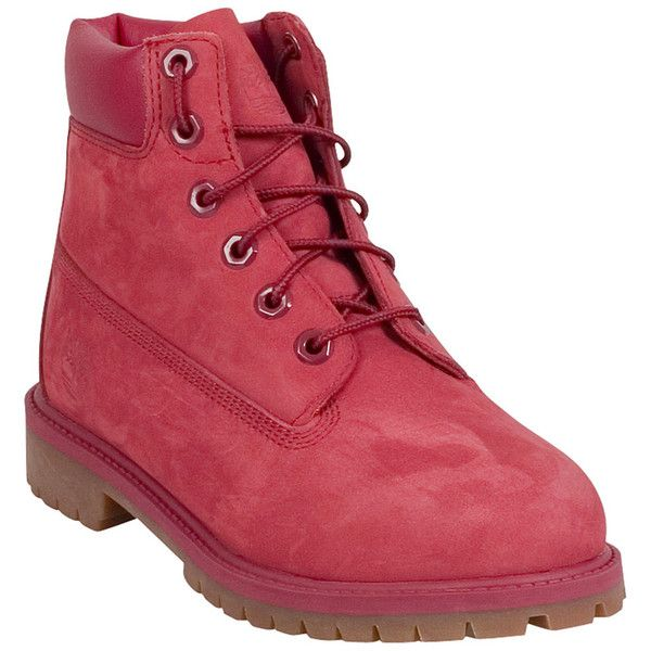 04d4080a37ba Timberland Women s 6-Inch Red Collection Boot (175 CAD) ❤ liked on Polyvore