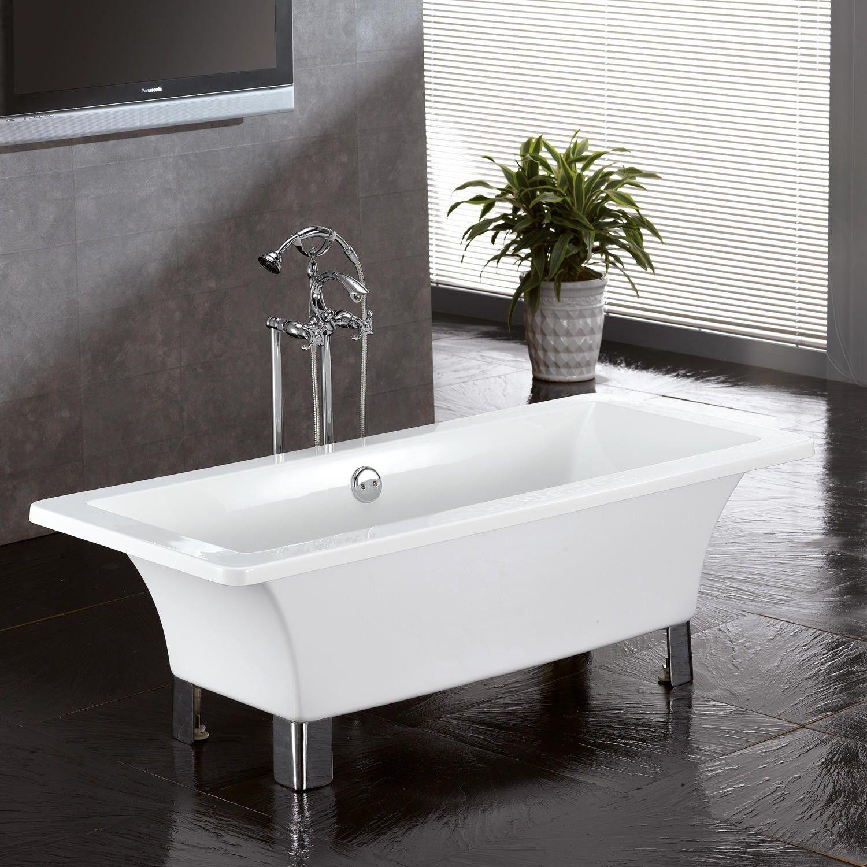 Natalie Acrylic Footed Tub | Tubs, Bathtubs and Acrylics