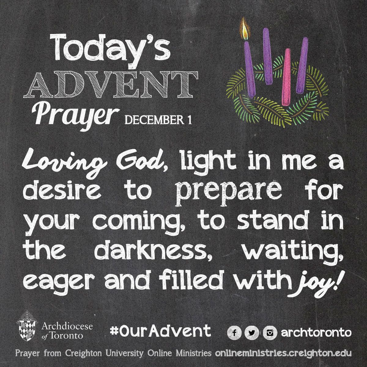 prayer for the first week of advent monday ouradvent. Black Bedroom Furniture Sets. Home Design Ideas