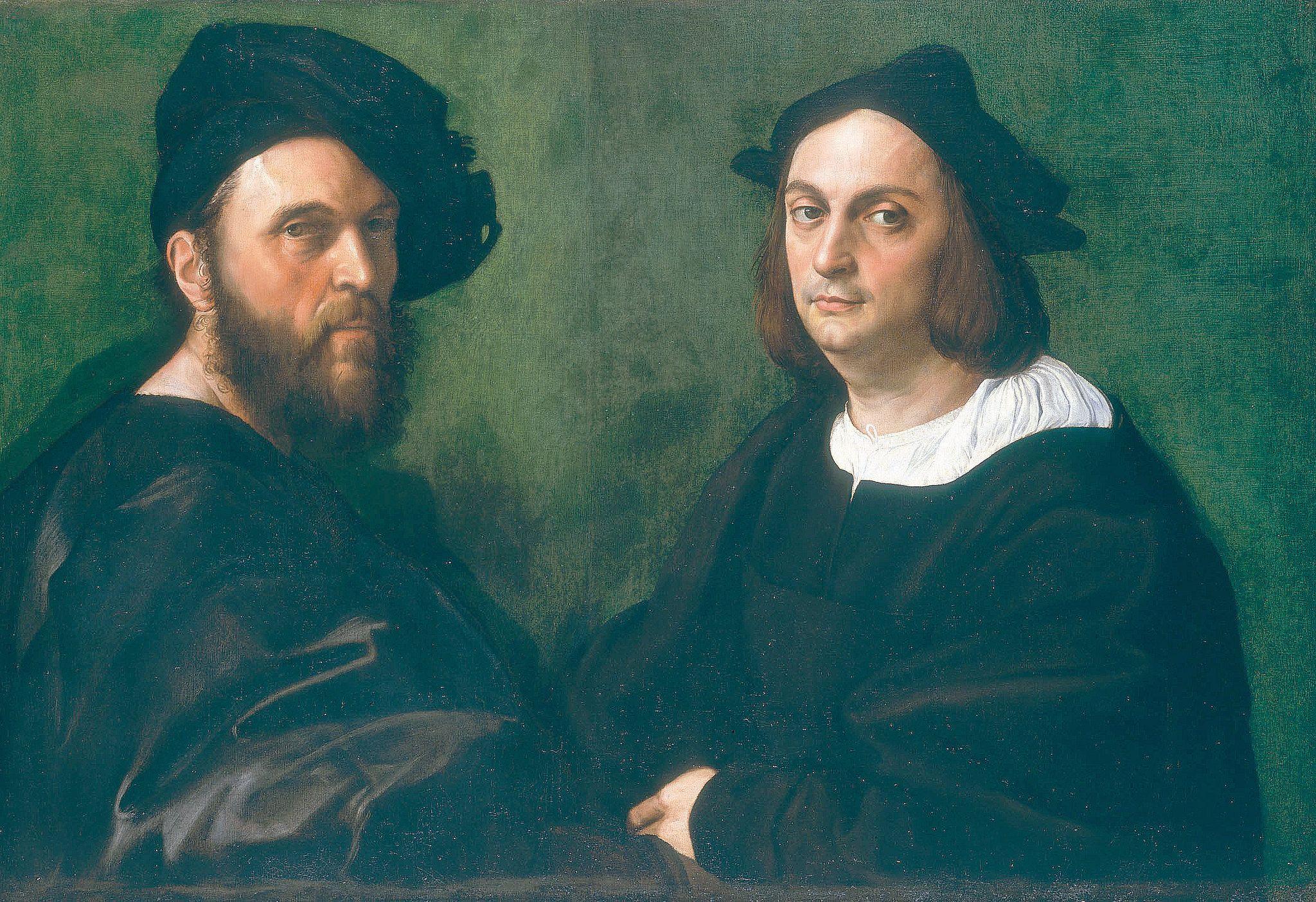 Portrait of Andrea Navagero and Agostino Beazzano [1516