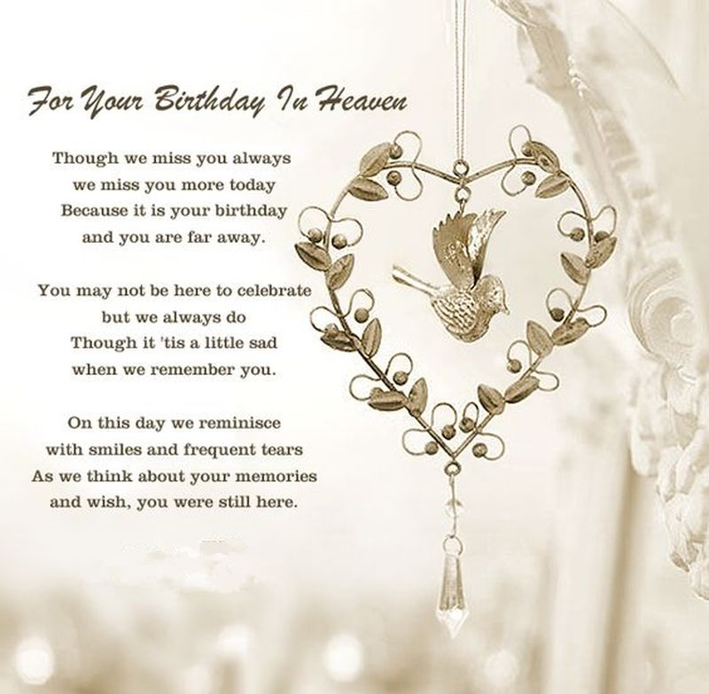 20 Memorable Deceased Loved Ones Birthday Quotes Enkiquotes