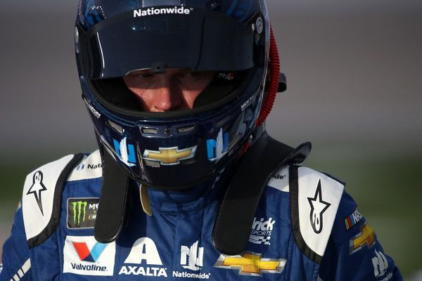Dale Earnhardt Jr. Photos Photos - Dale Earnhardt Jr., driver of the #88 Nationwide Chevrolet, stands on the grid during qualifying for the Monster Energy NASCAR Cup Series Kobalt 400 at Las Vegas Motor Speedway on March 10, 2017 in Las Vegas, Nevada. - Las Vegas Motor Speedway - Day 1