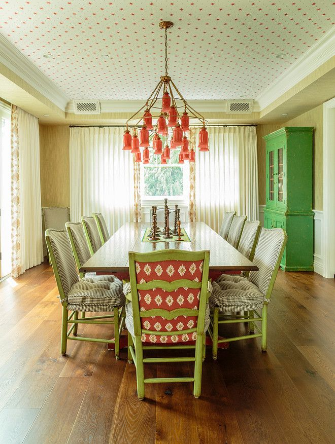Dining room Ceiling Wallpaper. Ceiling Wallpaper. Dining room ...