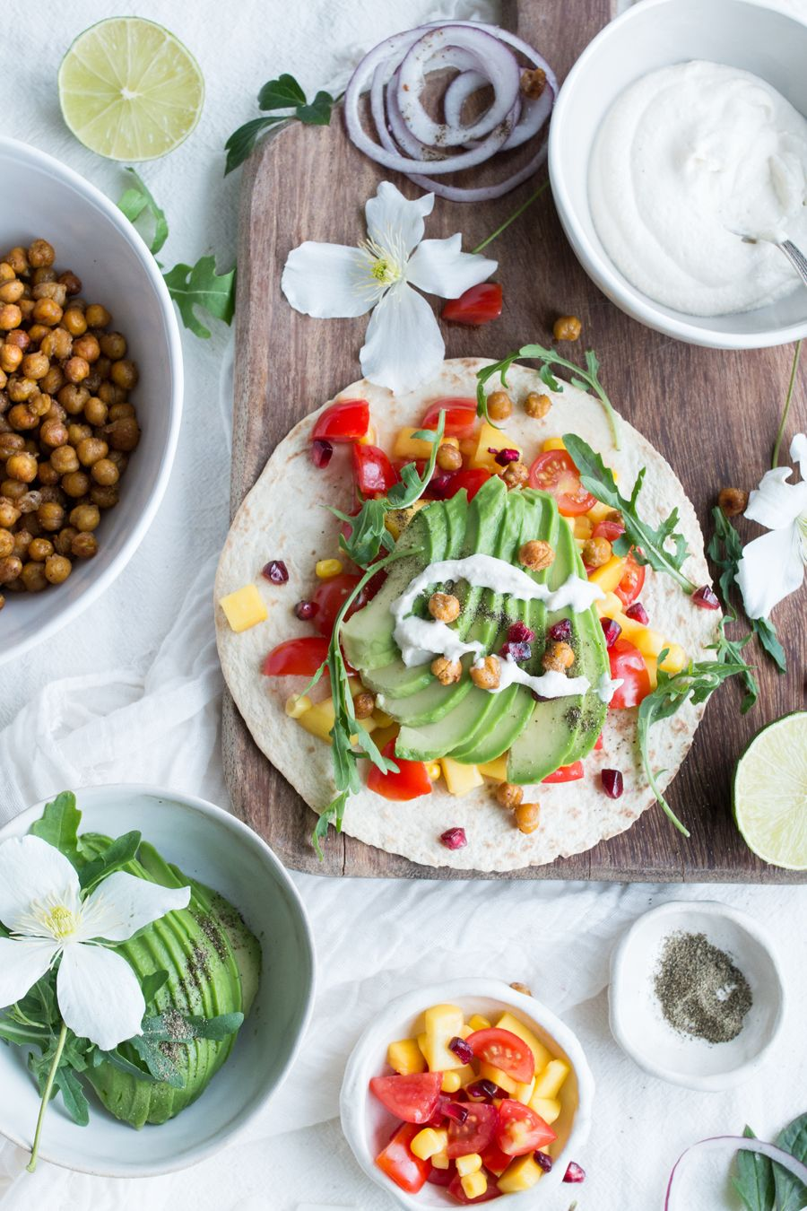 Vegan tacos with mango tomato salsa and a cookbook giveaway vegan tacos with mango tomato salsa and a cookbook giveaway yummy vegan recipesclean forumfinder Choice Image