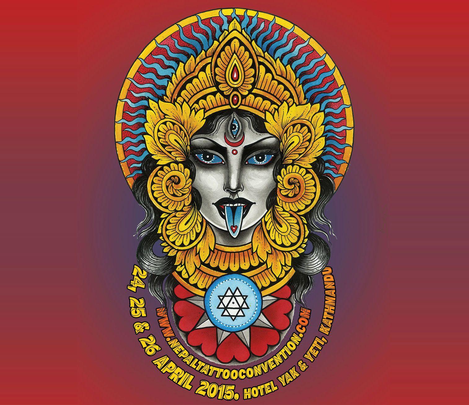5th International Nepal Tattoo Convention 2015 Nepal