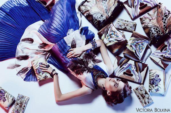 """""""Shopaholic"""" for Ukrainian Fashion Market on Behance"""