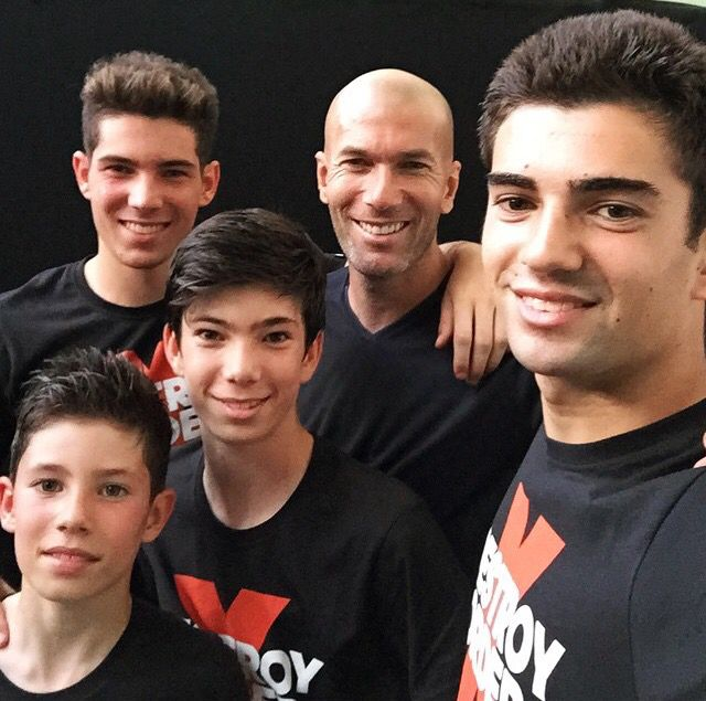Zidanes family