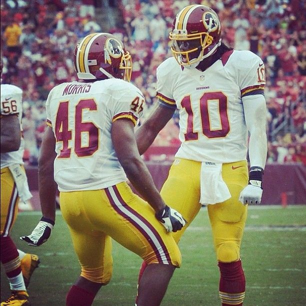 Alfred Morris & RG3 #Redskins   Redskins football ...