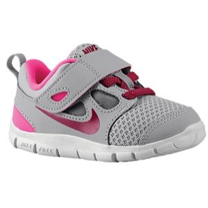premium selection 48d25 d9c98 Nike Free 5.0 - Girls  Toddler - Stealth Raspberry Red Pink Foil Pure  Platinum