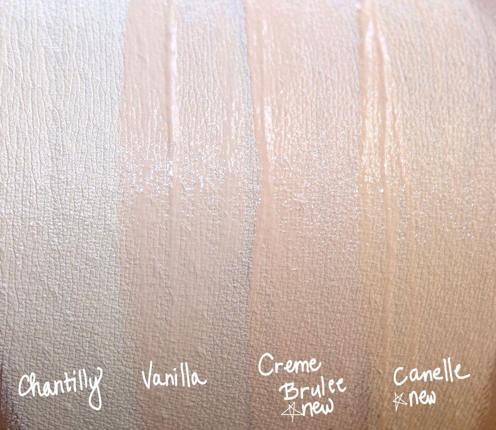 Kết quả hình ảnh cho NARS Cosmetics Radiant Creamy Concealer vanilla SWATCH