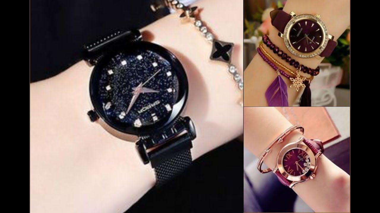 أجمل موديلات الساعات النسائية بأشكال مختلفة ورائعة من ماركات عالمية لسن Womens Designer Watches Watch Design Bracelet Watch