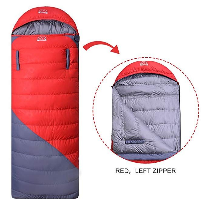 Hepburn S Lightweight Outdoor Camping 0 Degree 3 Season Duck Down Sleeping Bag Ultralight Compression For Review