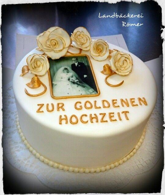 Torte Zur Goldenen Hochzeit Www Baeckerei Roemer At Marina