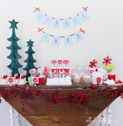 Hostess with the Mostess® - Christmas Hot Cocoa Bar Christmas