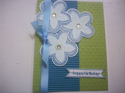 Stampin Up Triple Treat Masculine Happy Birthday Day Card Making Kit Set 5 | eBay