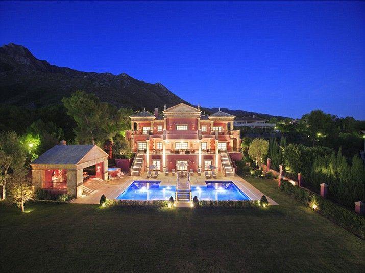 Extravagant multi million pound spanish houses for sale for Millionaire houses for sale