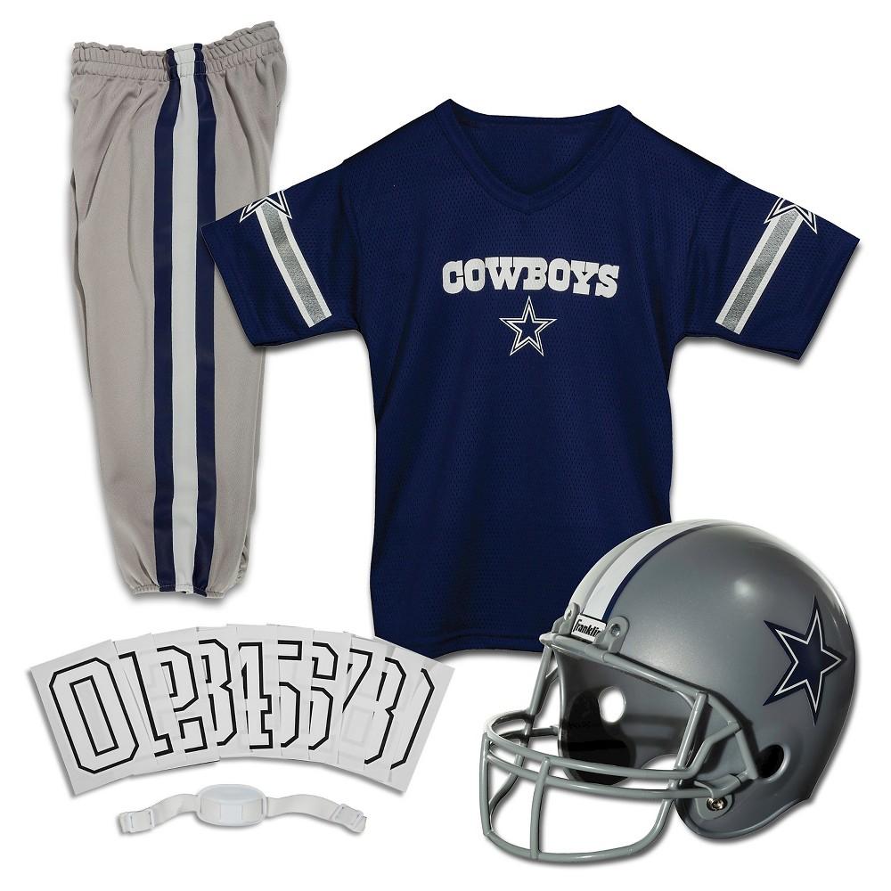 f03ded46b Franklin Sports NFL Dallas Cowboys Deluxe Uniform Set
