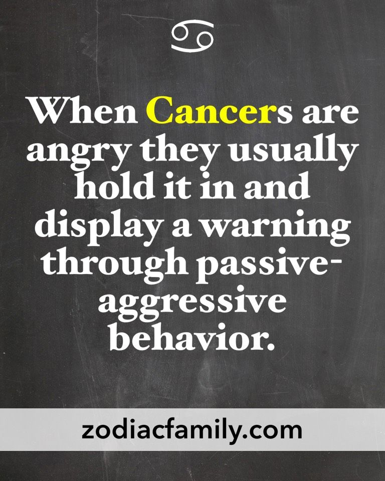 This couldn't be any more true! | It's a Cancer thing