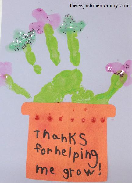 Teacher Appreciation Craft Ideas Preschool