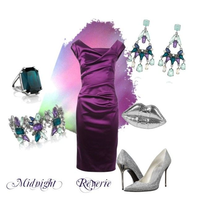 """Midnight Reverie"" by jfinerson ❤ liked on Polyvore featuring Chloe + Isabel and Talbot Runhof"