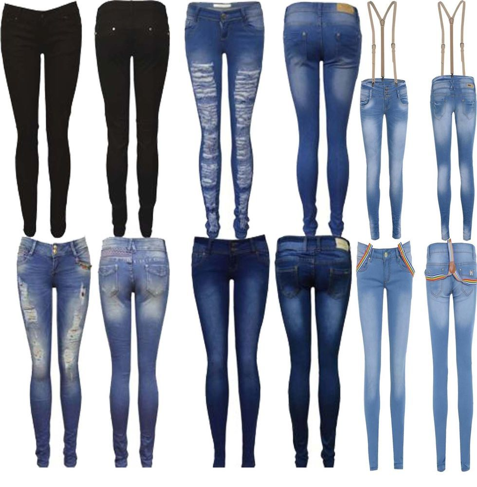 Types Of Jeans For Womens - Xtellar Jeans