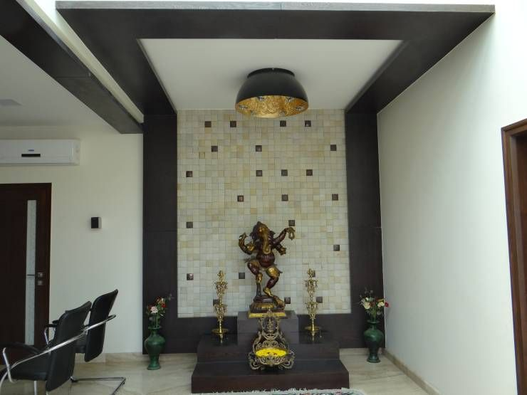 7 Beautiful Pooja Room Designs | Modern wall, Architects and Modern