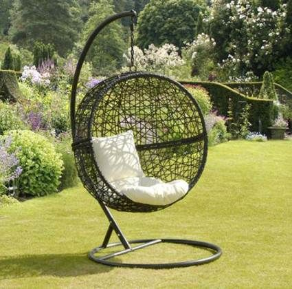 sillas colgantes para el exterior