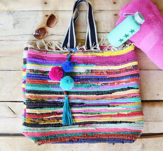 Extra Large Boho Tote Bag, Beach Bag   All Dressed Up   Pinterest ... d088b21d1d