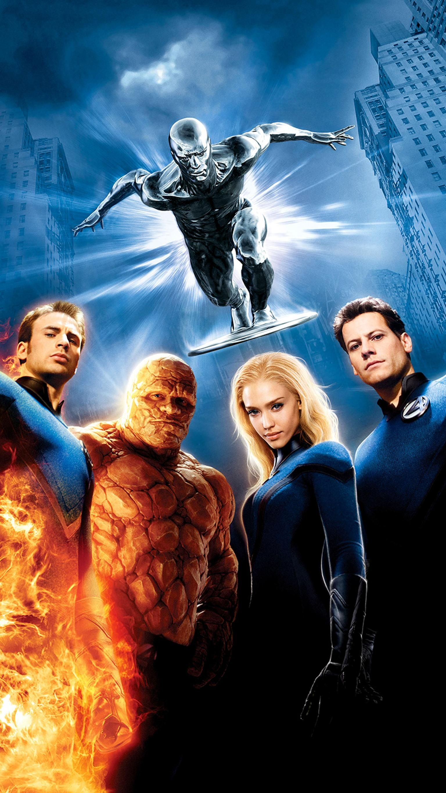 Fantastic Four Rise Of The Silver Surfer 2007 Phone Wallpaper Moviemania Silver Surfer Movie Fantastic Four Movie Silver Surfer