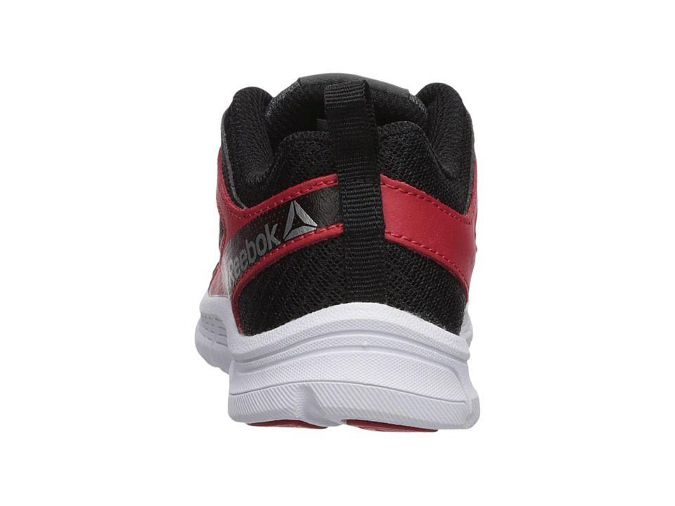 85717dc75 Reebok Kids Run Supreme 2.0 (Little Kid/Big Kid) Boys Shoes Alloy/Primal Red /Black