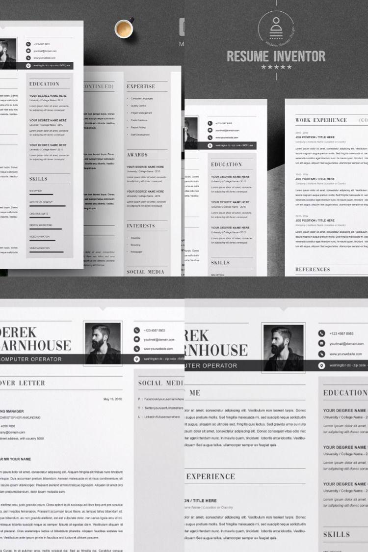 Resume Template Word in 2020 Resume words skills, Resume
