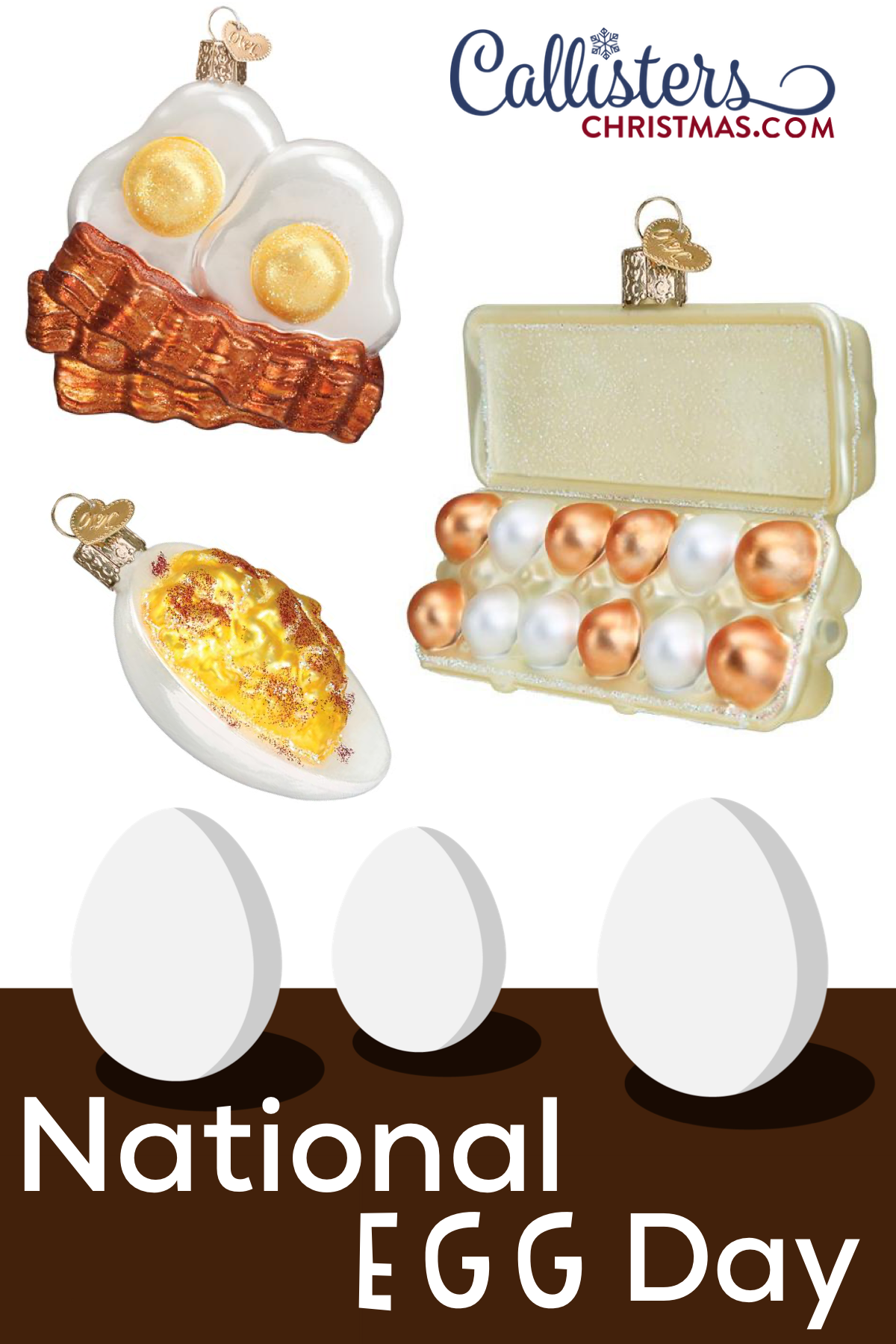 Egg Carton Ornament Food Ornaments Egg Carton Old World Christmas Ornaments