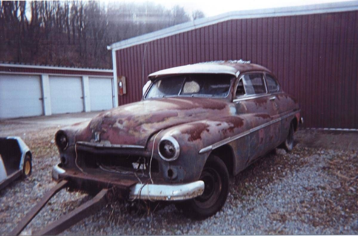1950 Mercury Coupe | Barn Finds,Junk Yard Cars etc. | Pinterest ...
