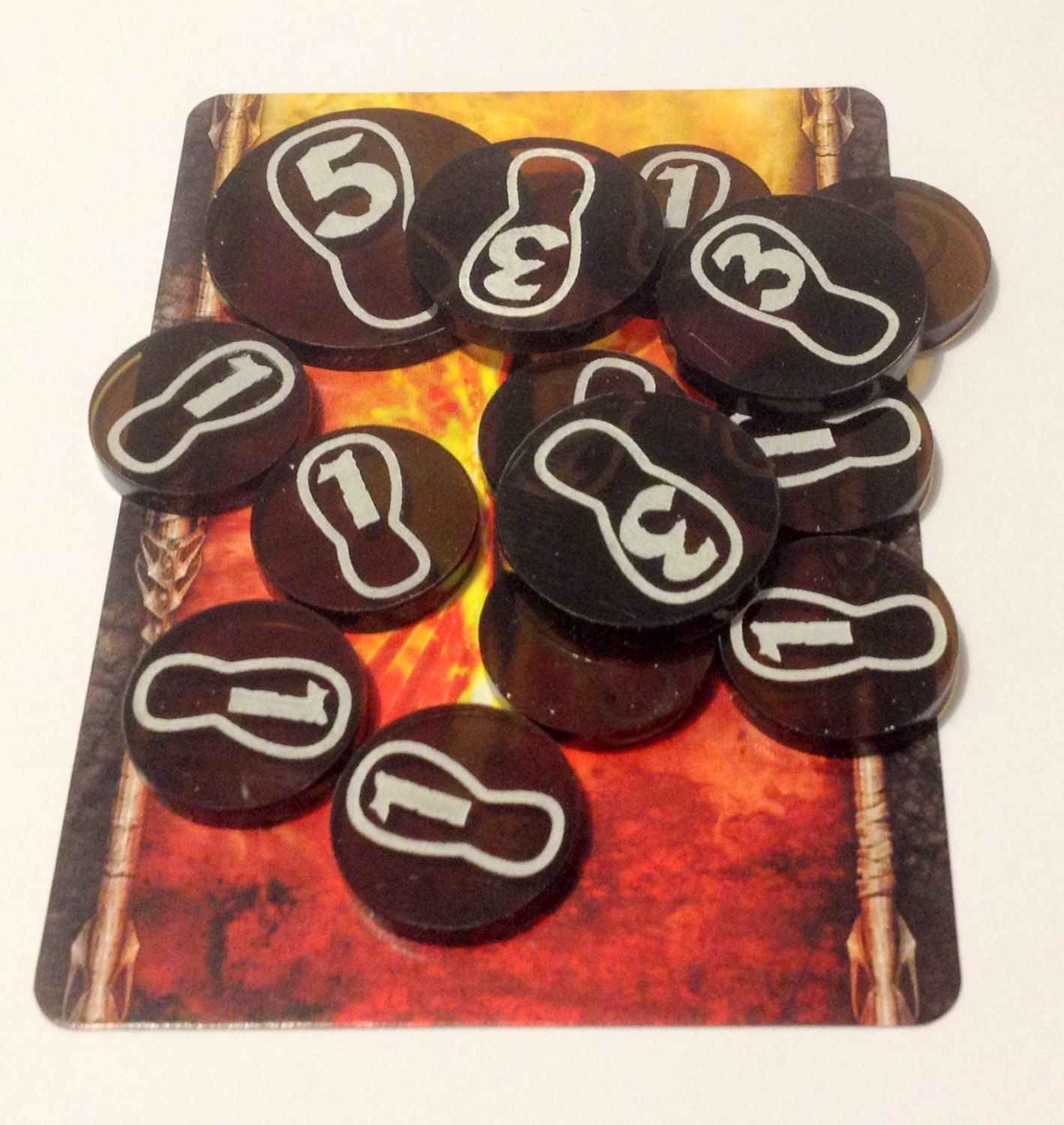 The Lord Of The Ring Lcg Progress Tokens Set
