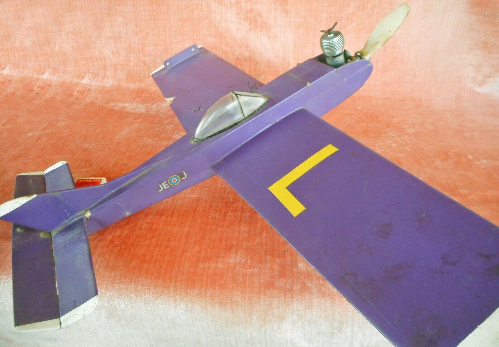 Aeroflyte Taipan Trainer That Sold On Ebay 02 Jan 2020 For Au 176 50 With An English Elfin 249 Diesel Engine In 2020 Model Aircraft