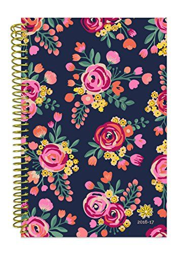 bloom daily planners 2016 17 academic year daily planner passion